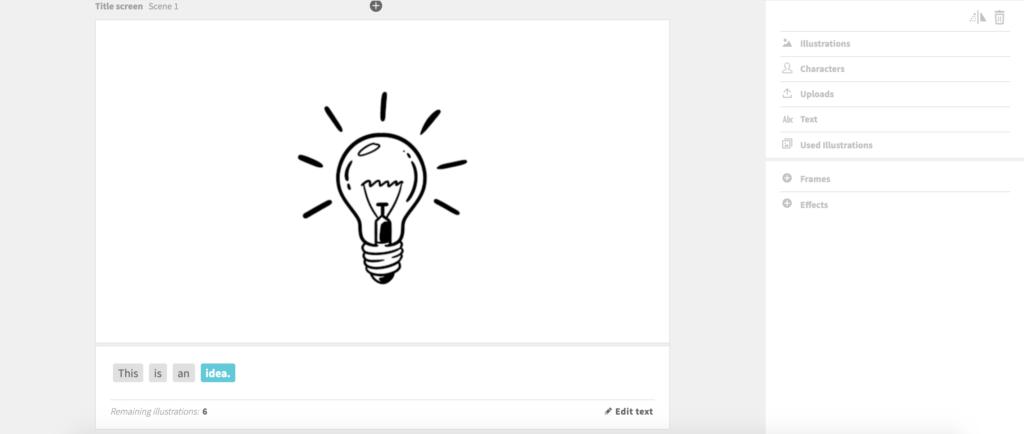 keyword in explainer video script