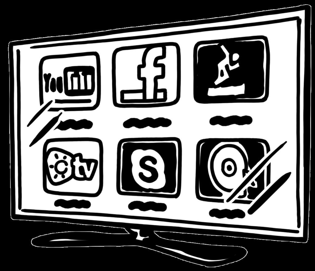 social media for YouTube
