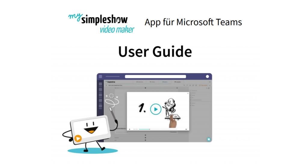 Wie Sie und Ihr Team mithilfe von mysimpleshow video maker und Microsoft Teams effektiver kommunizieren