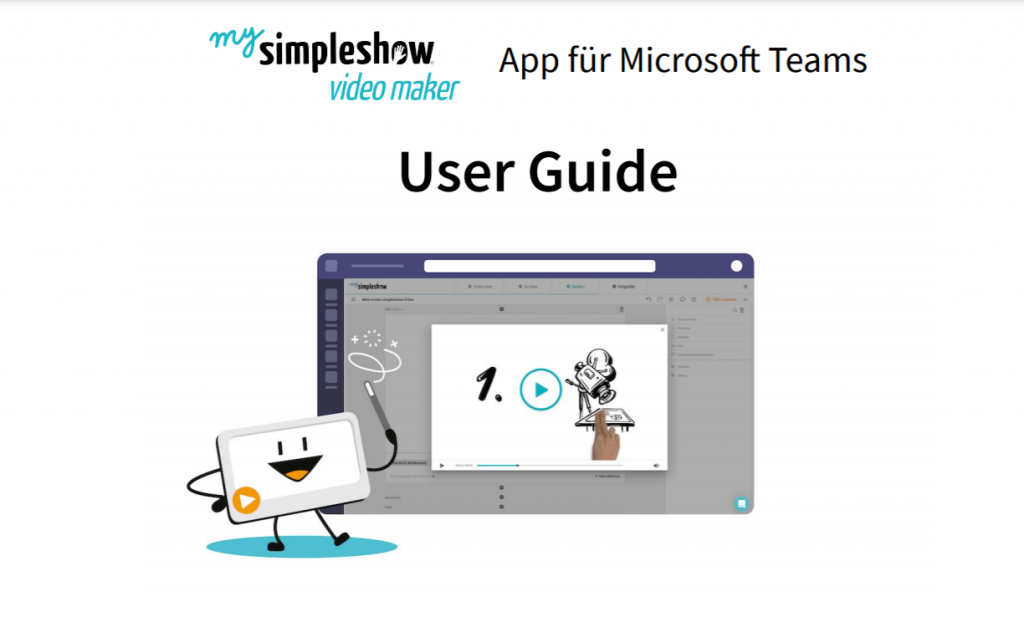simpleshow video maker User Guide
