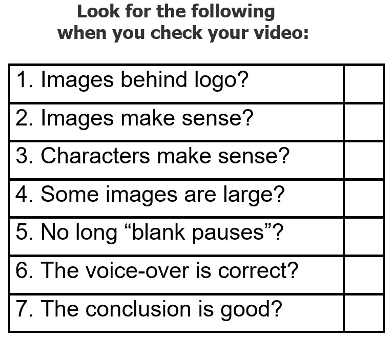 Essential Tip 11 for Making mysimpleshow Videos - Check the video before finalising