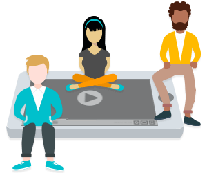 Whiteboard animation makes learning a communal experience.