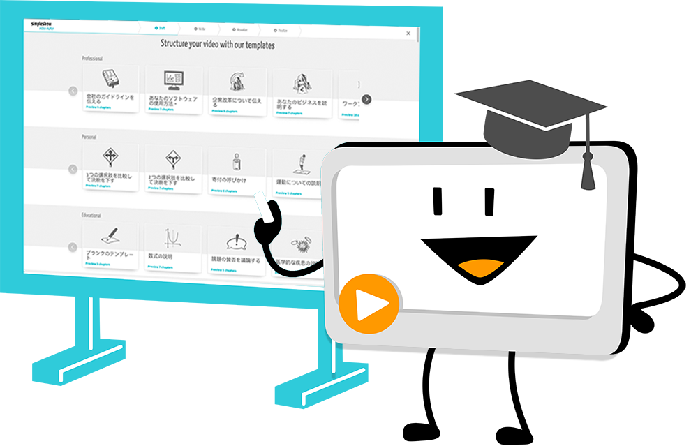 Software products are being further developed to enable greater language diversity. Technological advancement has now made it possible to offer simpleshow video maker in 20 new languages