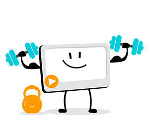 Videos work as a great way to train your employees on your business website.