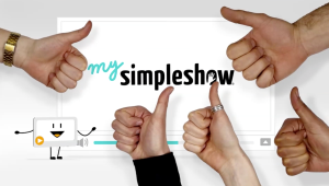 Make your own mysimpleshow video with hands. It's easy, it's fun, and it's free.