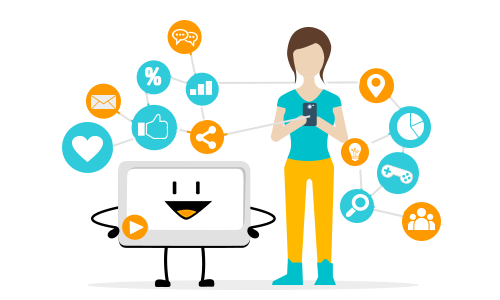 Digital Natives mobile communication
