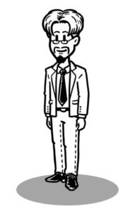 mysimpleshow Charakter-Creator: Mann im Business Look