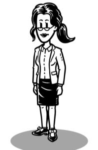 mysimpleshow Charakter-Creator: Frau im Business Look