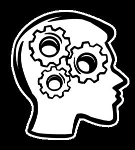 Prozesse im Kopf vor Überlastung bei Online-Schulungen
