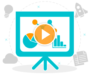 combining videos with presentation