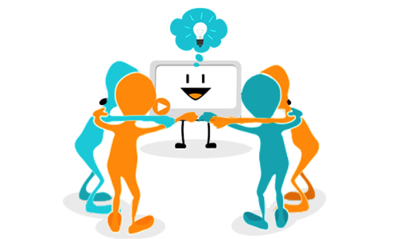Gemeinsam für Kunden Beziehungen
