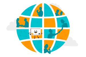 Kundenkommunikation rund um die Welt