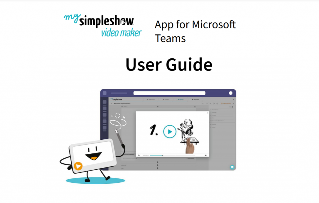 Communicate more efficiently with Microsoft Teams and mysimpleshow video maker